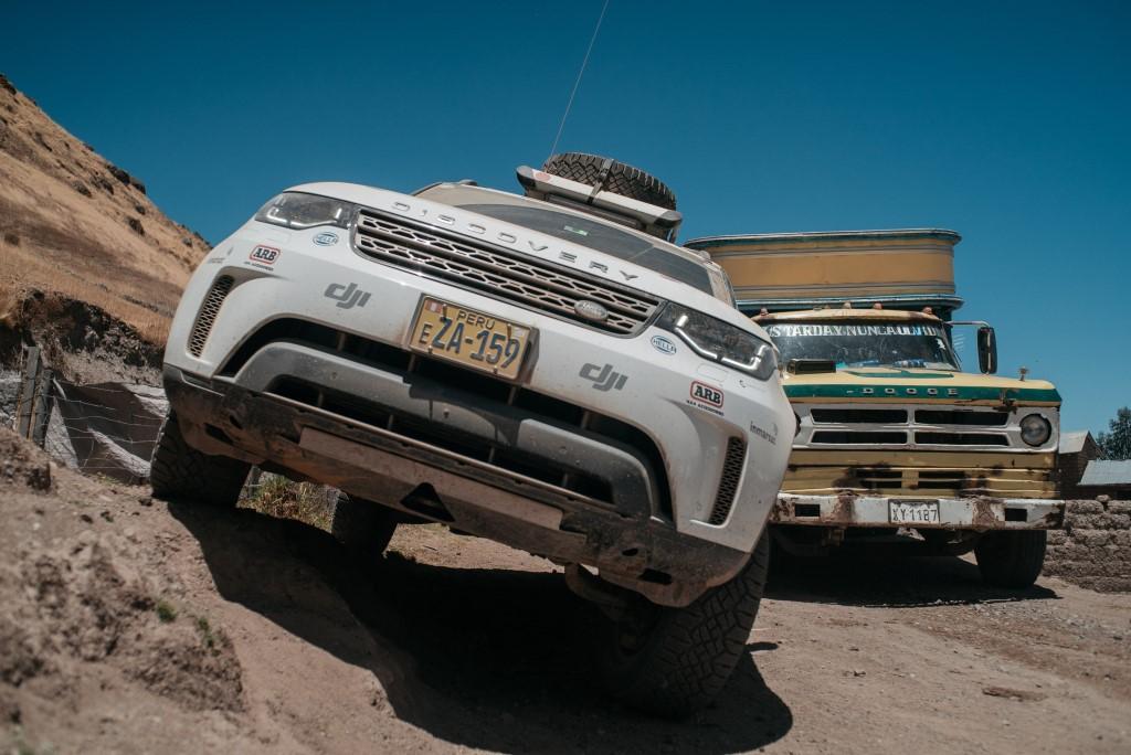 Completato il Land Rover Experience Tour 2017