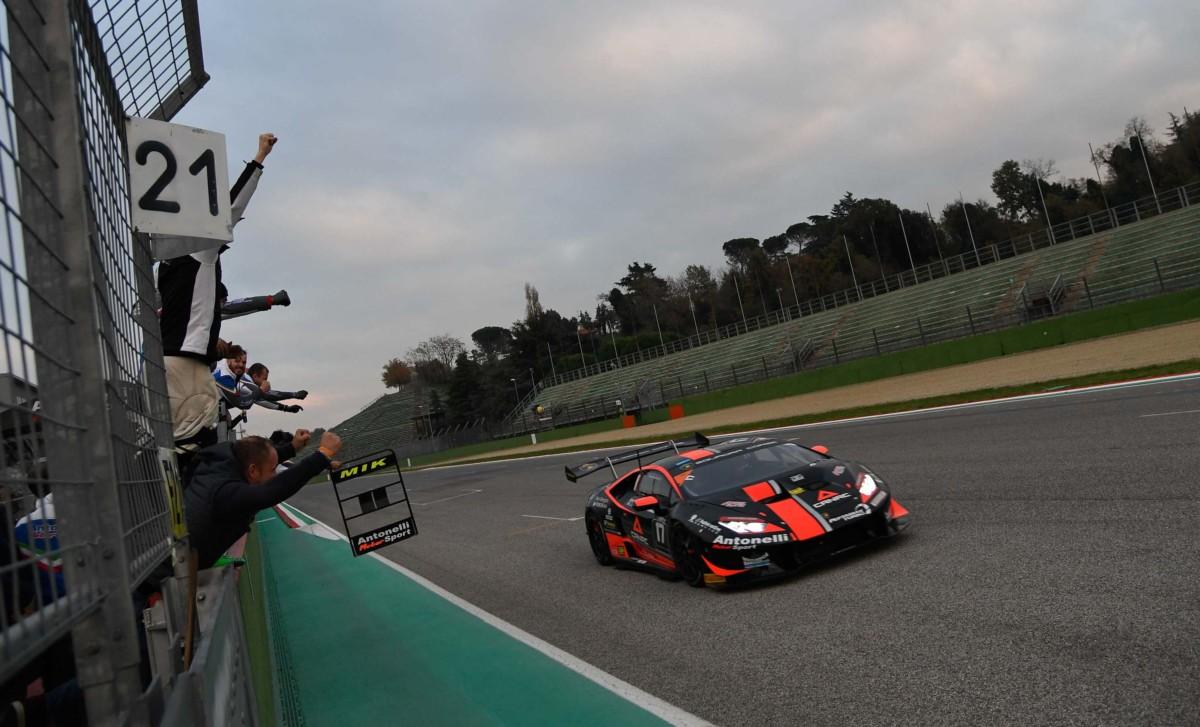 Lamborghini Super Trofeo: Titoli assegnati a Imola