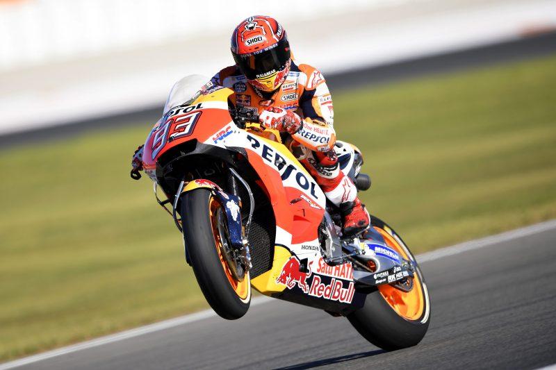 Valencia: ultima pole a Marquez. Dovizioso 9°