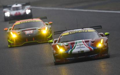 WEC: Ferrari in seconda e terza fila a Shanghai
