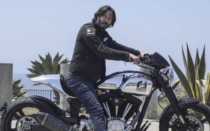 Hollywood a EICMA con Keanu Reeves