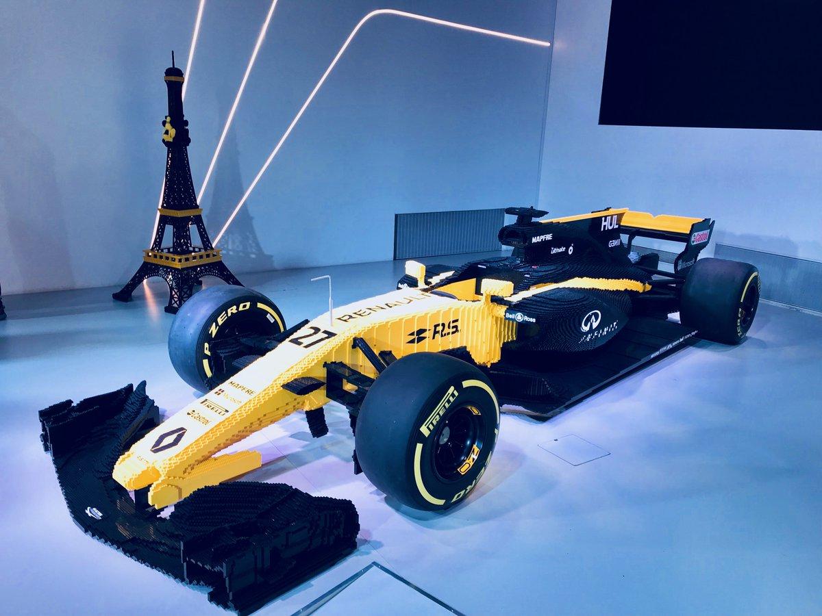Con Renault e LEGO una Formula 1 in scala 1:1