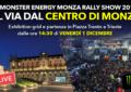 Il Monza Rally Show parte dal centro di Monza