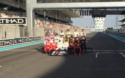 Abu Dhabi: la griglia di partenza ufficiale