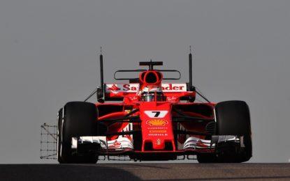 Primo giorno di test ad Abu Dhabi per Raikkonen