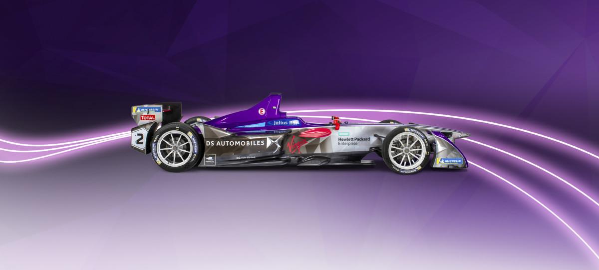 Formula E: DS Virgin Racing presenta la DSV-03