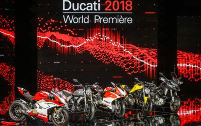 Le novita mondiali Ducati in una sinfonia italiana