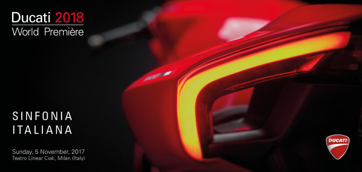 Ducati World Premiere 2018 in diretta su Sky