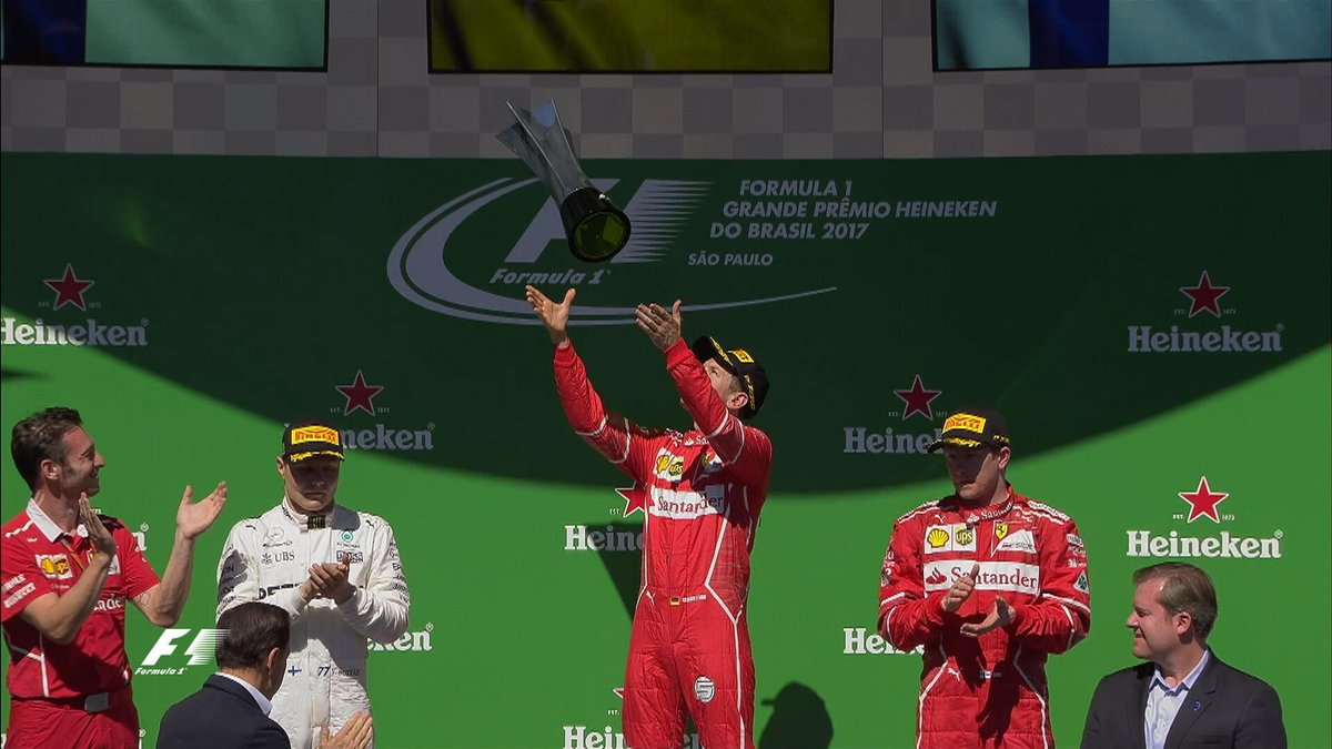 Brasile: Vettel davanti a Bottas, Raikkonen e Hamilton