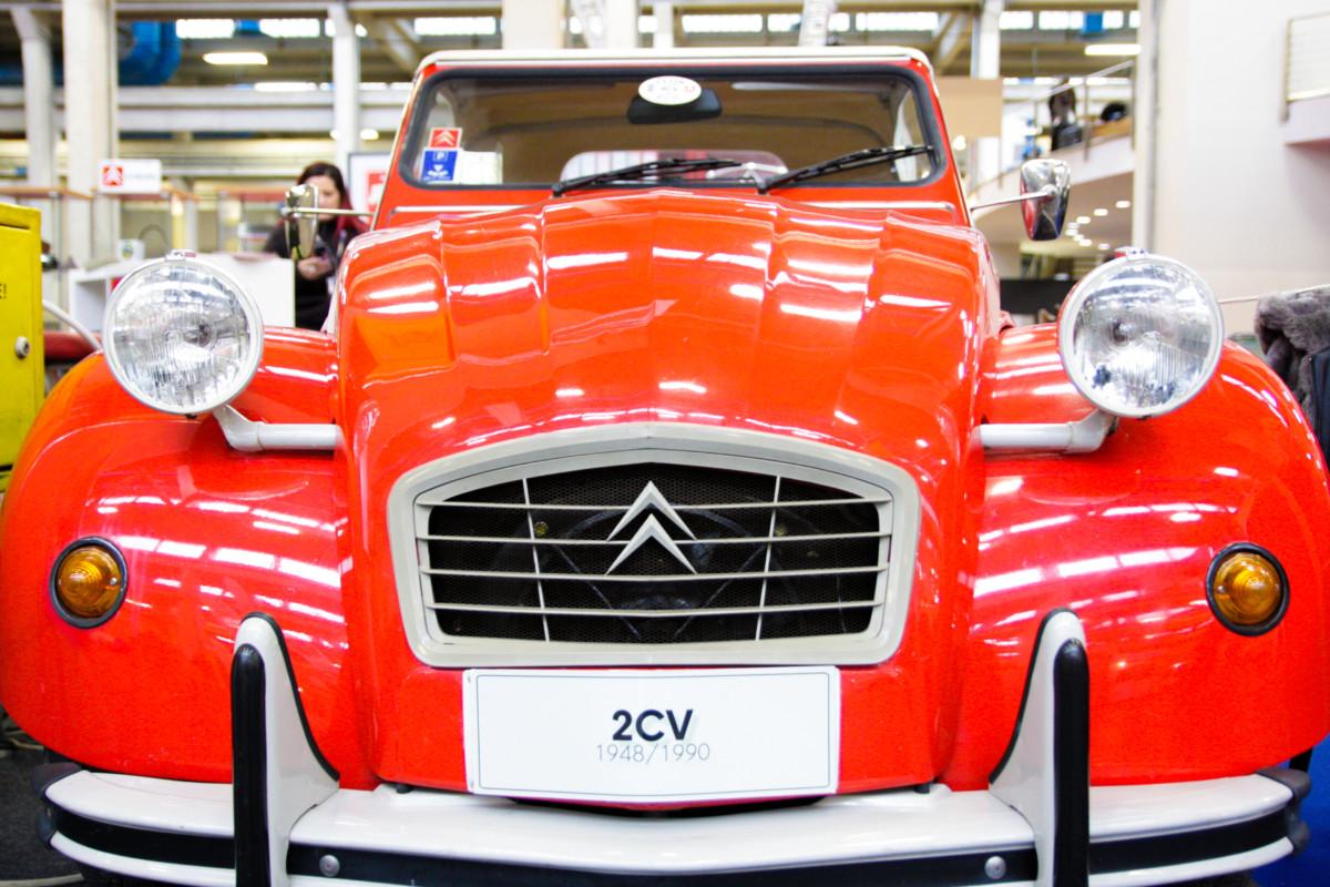 I 70 anni della Citroën 2CV ad Automotoretrò