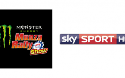 Monster Energy Monza Rally Show in diretta su Sky