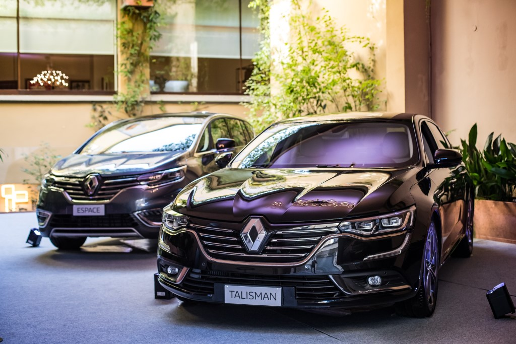 Renault EXECUTIVE: tecnologia per il business