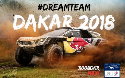 Team Peugeot Total pronto per la Dakar 2018