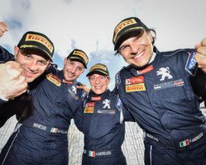 Monza Rally Show: Peugeot festeggia con due 208 T16