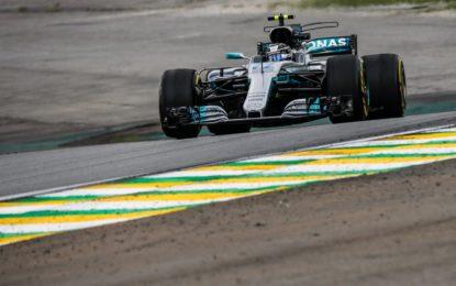 Brasile: Bottas soffia la pole a Vettel, Hamilton out