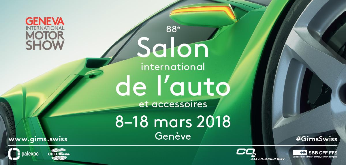 Salone di Ginevra 2018: prime informazioni