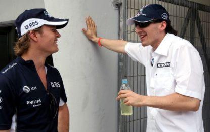 Fine della collaborazione tra Rosberg e Kubica