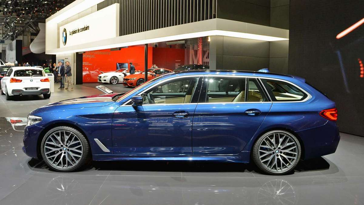 BMW Serie 5 Touring: potenza e tecnologia