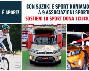 Suzuki: 100.000 click per lo sport