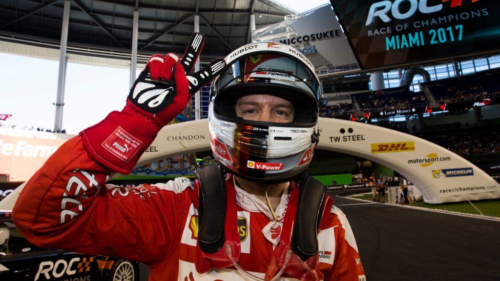 Vettel non parteciperà alla Race of Champions
