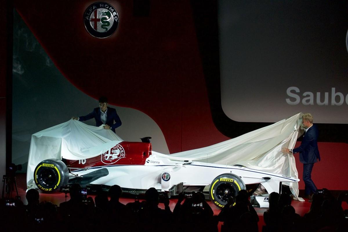 Alfa Romeo Sauber F1 Team: la macchina del tempo