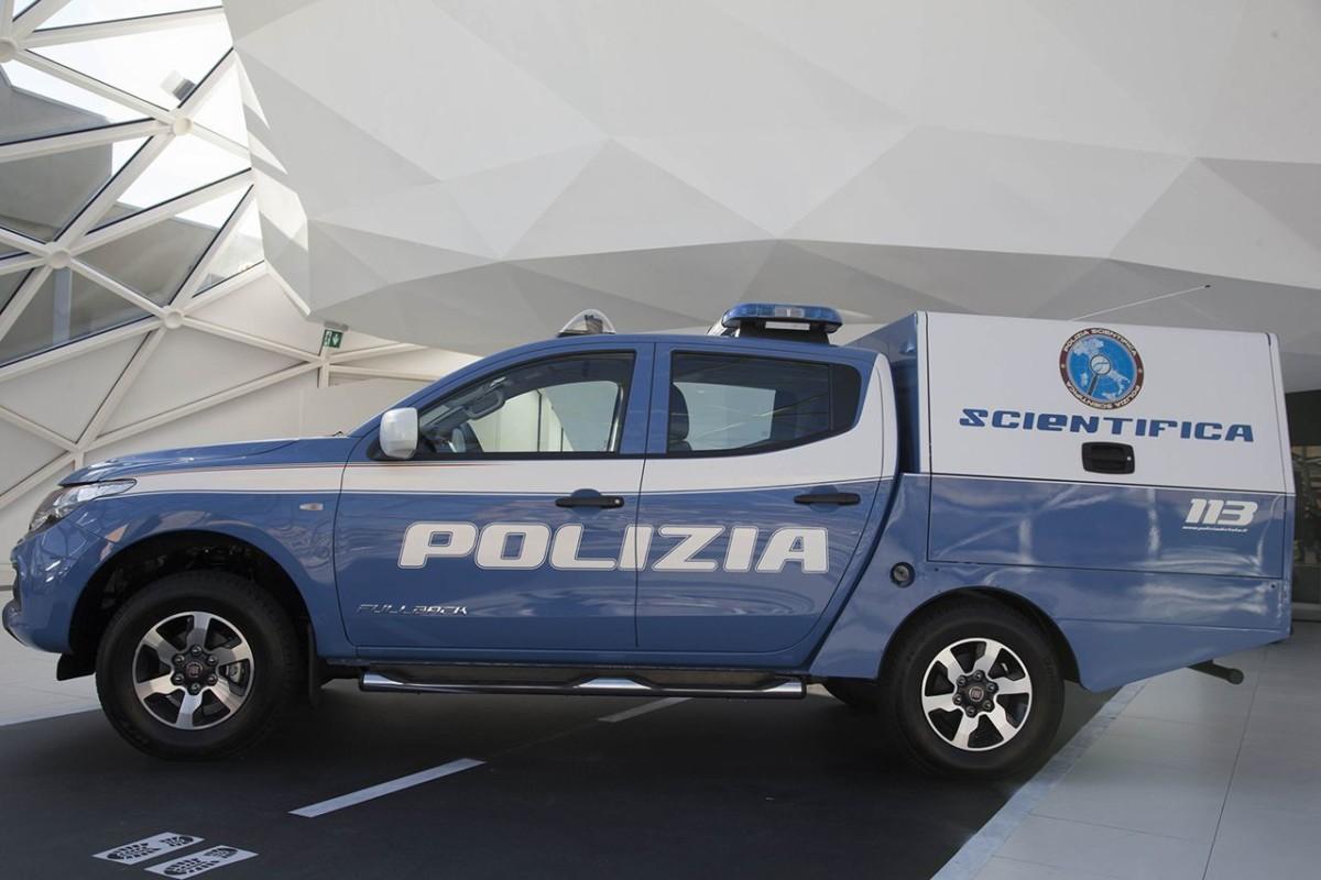 Il primo Fullback per la Polizia Scientifica