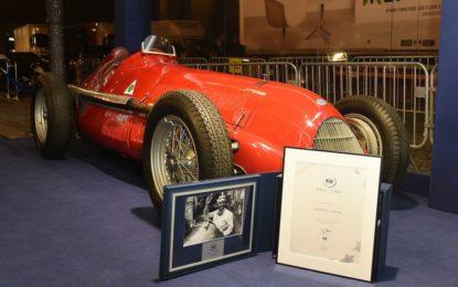L'Alfa Romeo 158 alla FIA Hall of Fame