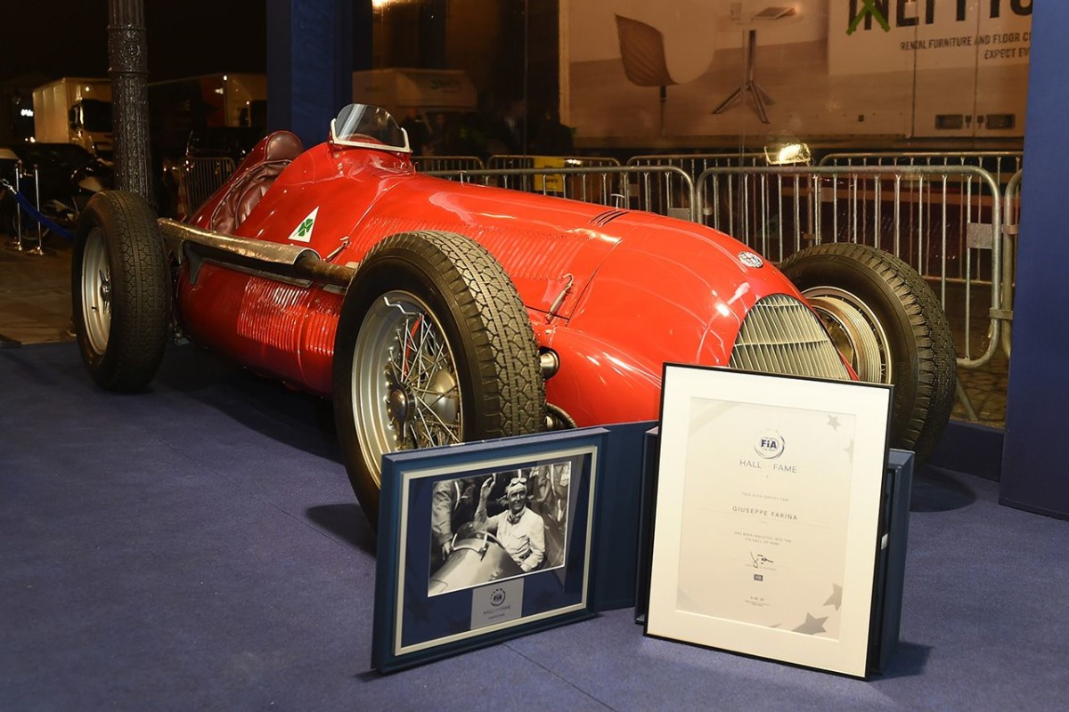 L'Alfa Romeo 158 alla FIA Hall of Fame