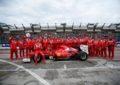I piloti Ferrari conquistano il Motor Show