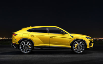 Perfect fit Pirelli per Lamborghini Urus