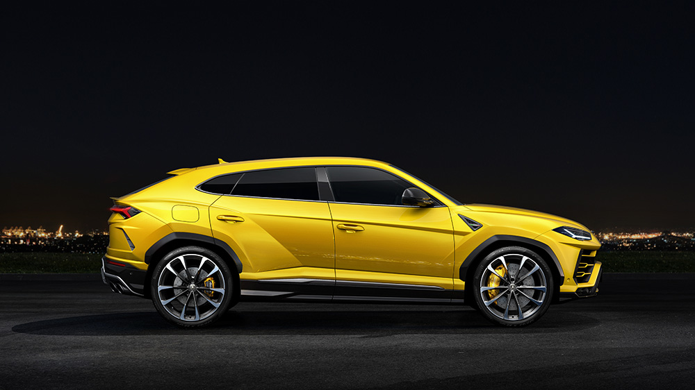 Perfect fit Pirelli per Lamborghini Urus