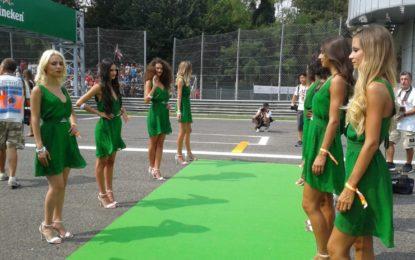 La F1 manda in pensione le grid girls