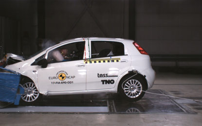 Fiat Punto e quelle zero stelle nei crash test