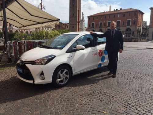 Yuko, il car sharing ibrido arriva a Venezia