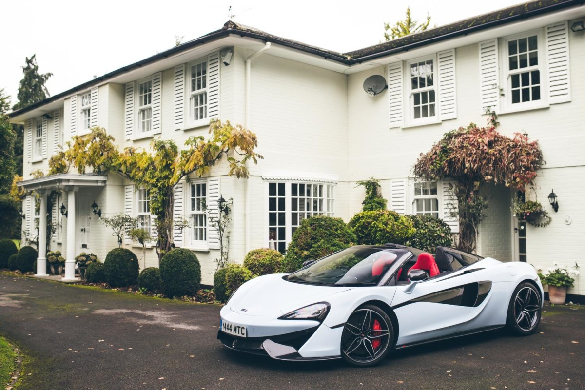 McLaren Special Operations: nasce il Muriwai White