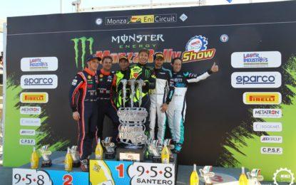 Monza Rally Show: sesta vittoria di Valentino Rossi