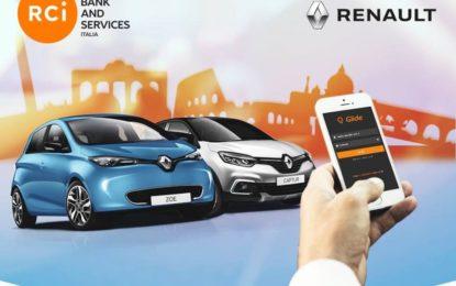 Renault Italia lancia Glide, il car sharing aziendale