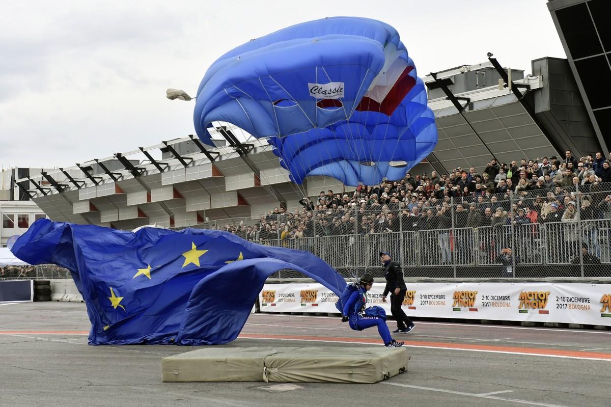 Motor Show, spettacolo Ferrari