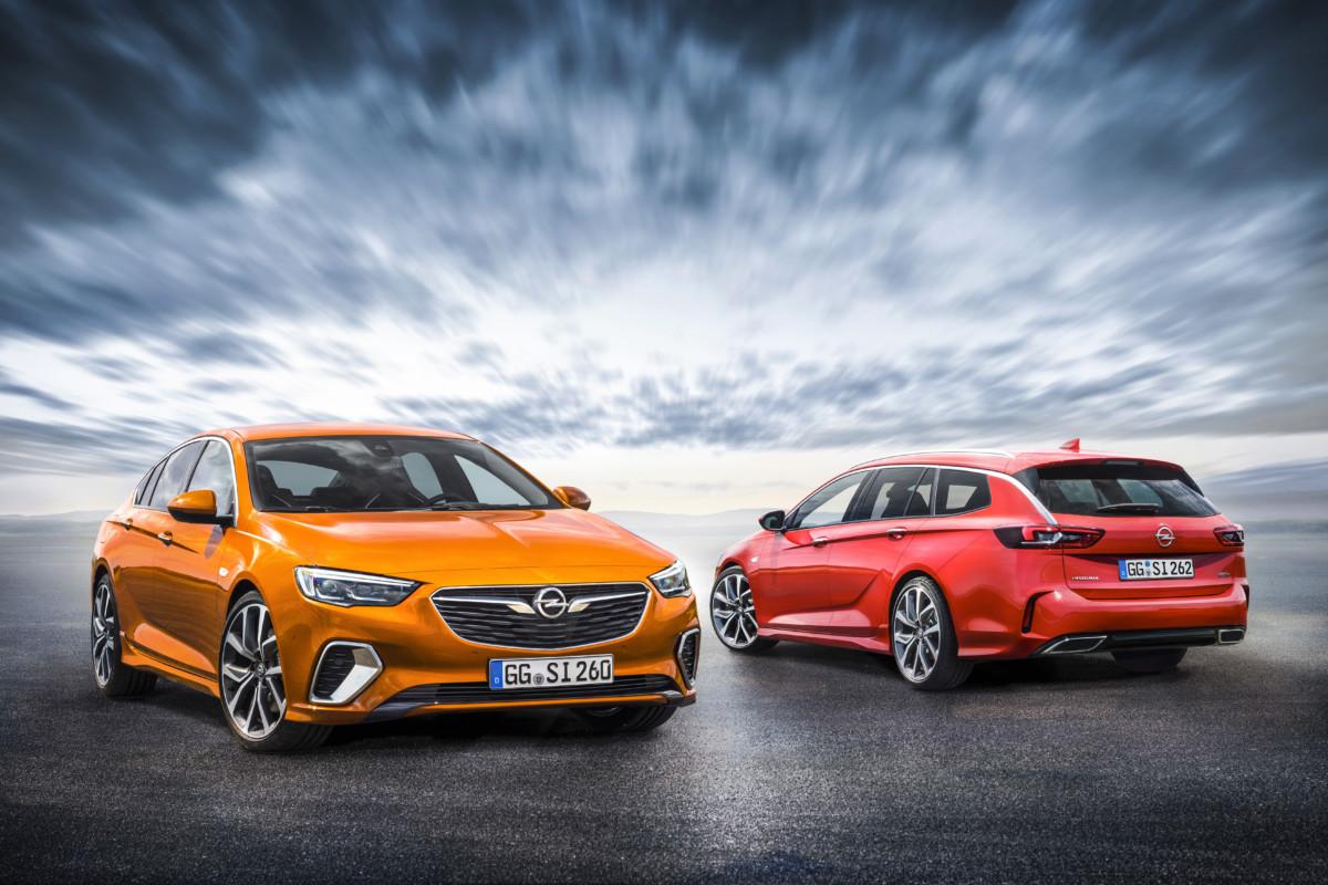 Nuova Opel Insignia GSi: apertura ordini