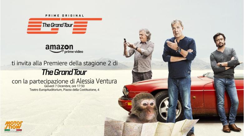 THE GRAND TOUR: anteprima il 7 dicembre