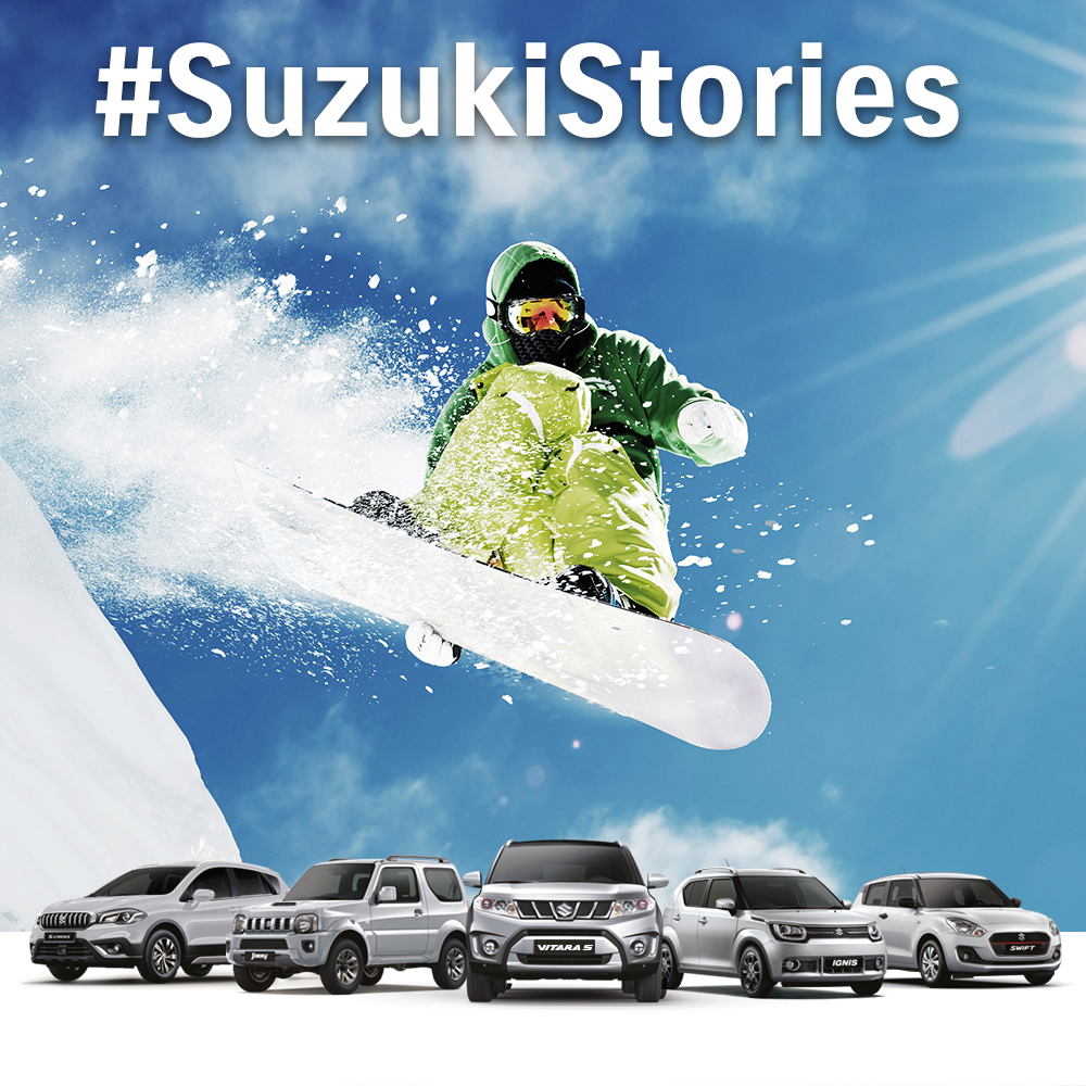 #SuzukiStories: casting per gli spot web 4WD ALLGRIP