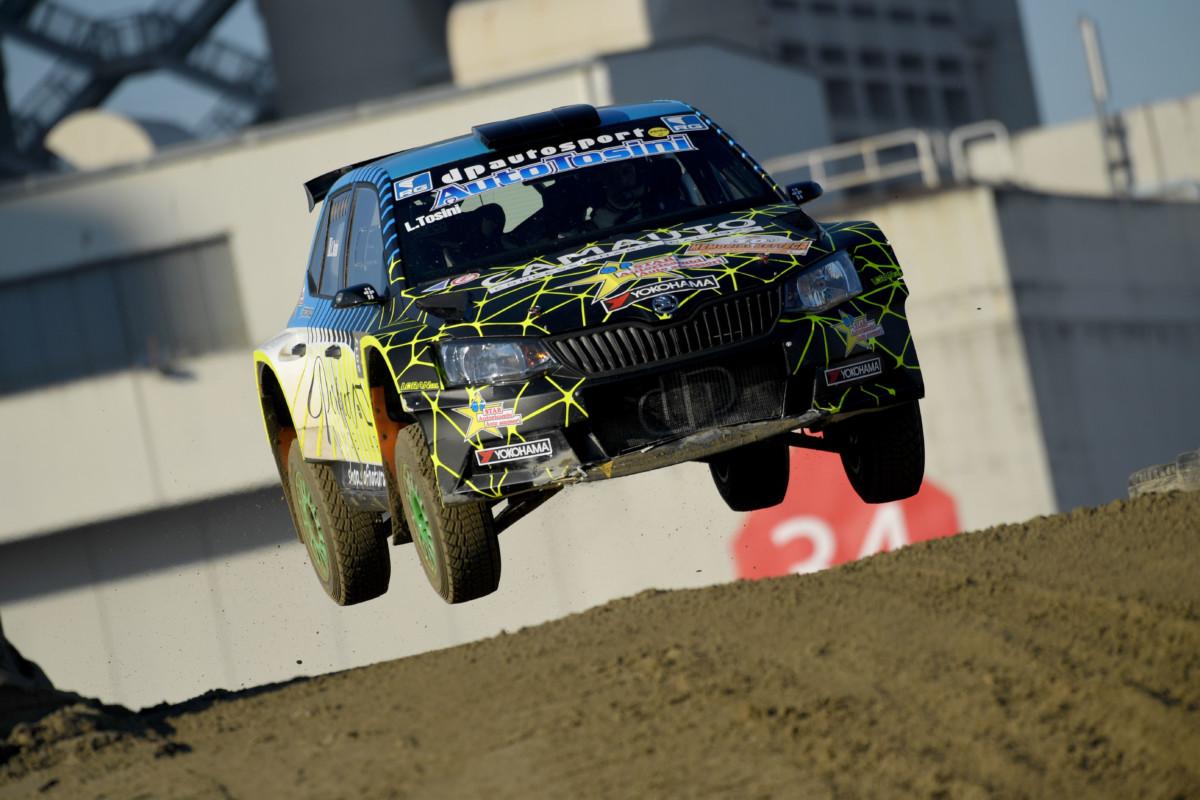 Motor Show: a Tosini il Trofeo Italia Rally Terra Yokohama