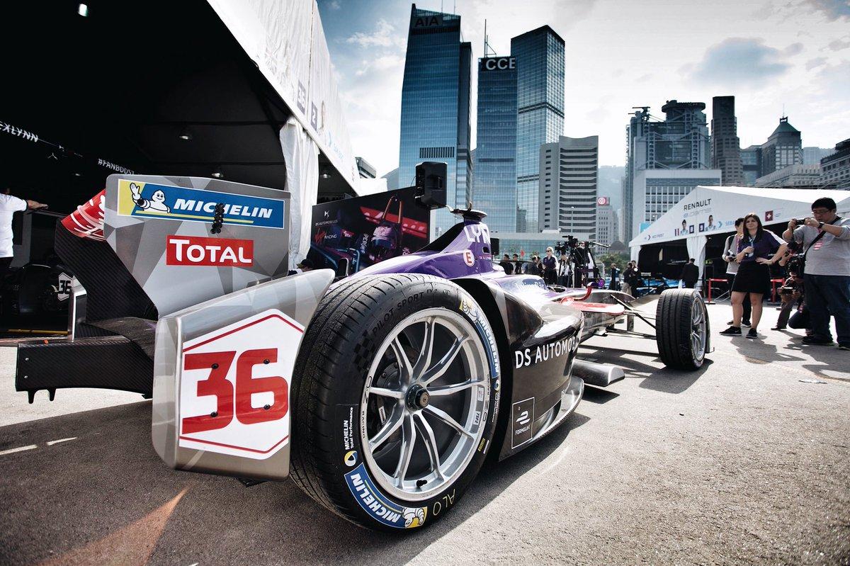 Michelin rinnova la partnership con Formula E