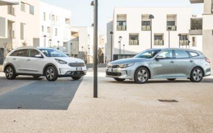 KIA Niro e Optima Sportswagon Plug-in Hybrid