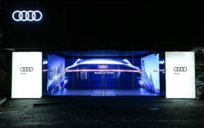 Audi e-tron auto ufficiale di Cortina d'Ampezzo