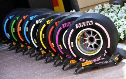 Pirelli: mescole e set per il GP di Monaco