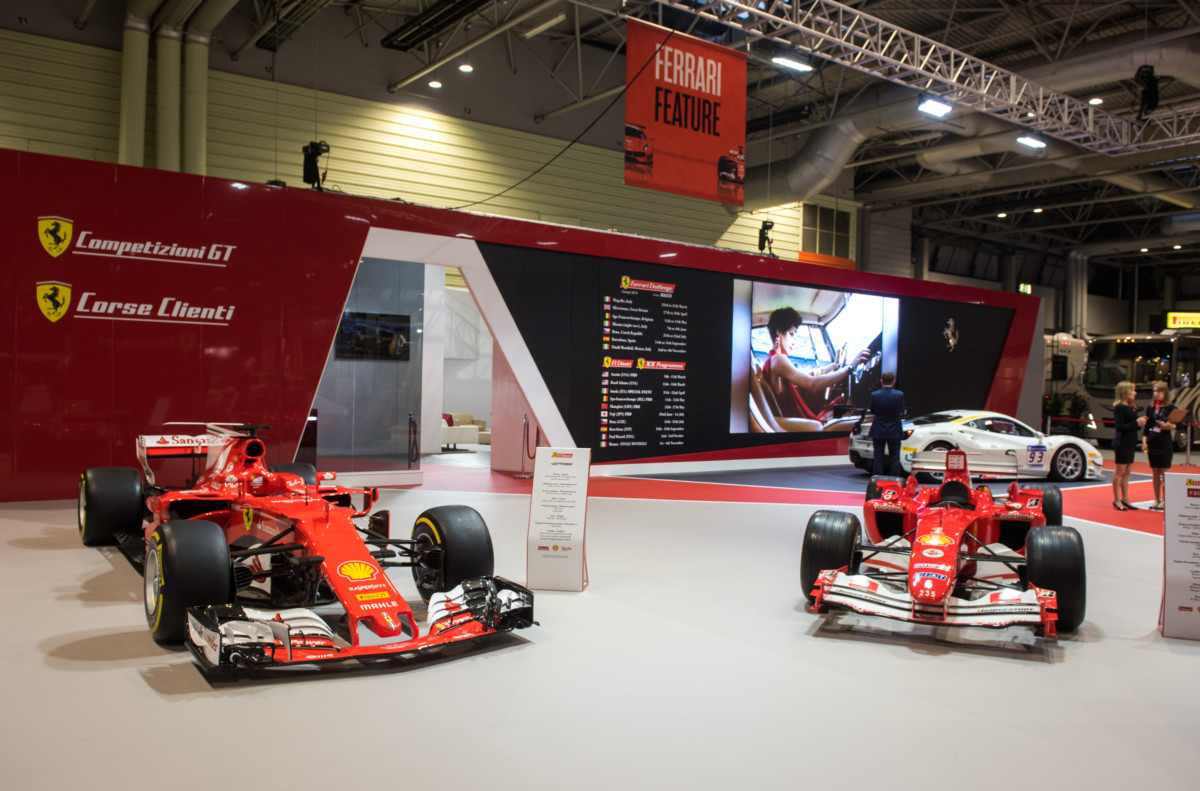 Ferrari protagonista all'Autosport International