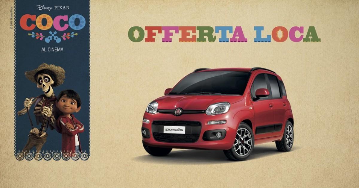 Fiat Panda da 7.950 euro con «Offerta loca»