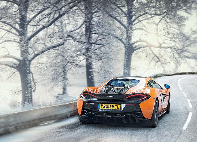 Pirelli per McLaren: fit perfetto con scarpe da neve