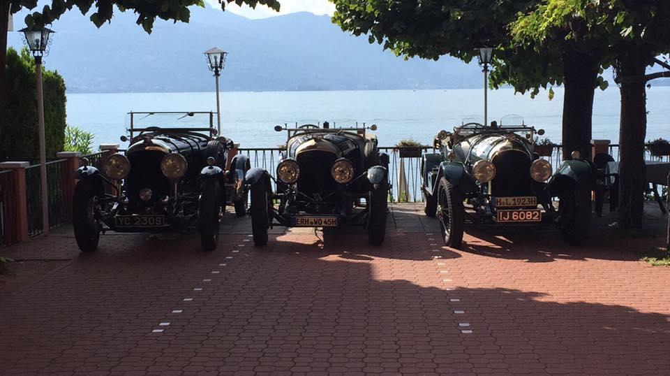Raduno Bentley: gioielli d'epoca sul Lago Maggiore